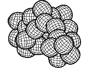 Abstract Coloring Pages on Abstract Geometric Coloring Page
