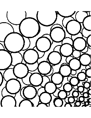 Abstract Coloring Pages on Abstract Pearls Coloring Page