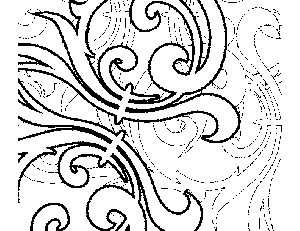 Curls Coloring Page