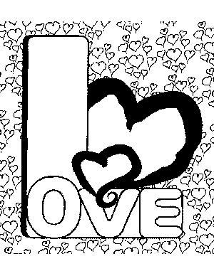Alphabet Coloring on Letter L Coloring Page