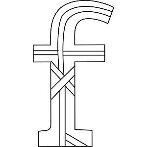Lowercase F Coloring Page