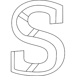 lowercase s coloring page lowercase s coloring page download now png - S Colouring Pages