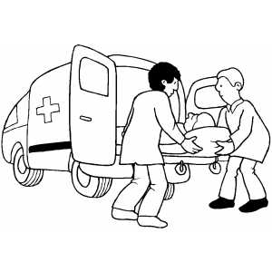 emt coloring pages - fire engine ambulance fire free engine image for user