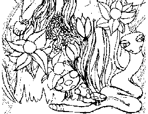 Adam In The Garden Of Eden Coloring Pages Printable ...
