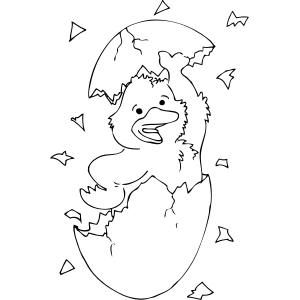 duck egg coloring pages - photo#4
