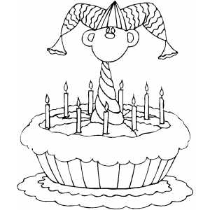 free coloring pages of jesters - photo#34