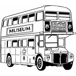 London Bus Coloring Pages Coloring Pages