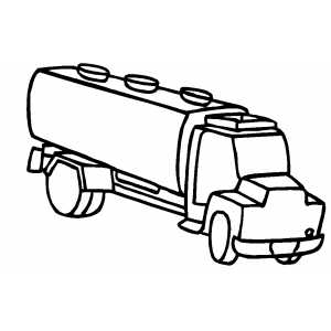 milk trucks coloring pages - photo#2