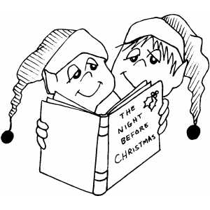 kids reading books coloring pages - pictures of children reading a book