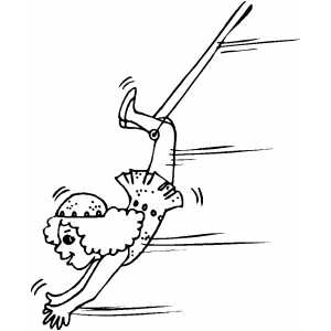 acrobat coloring pages - photo#34