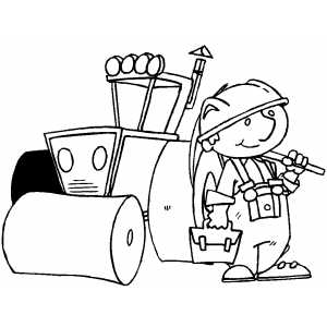 workplace safety coloring pages - photo#34