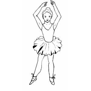 professional ballet coloring page professional ballet download now png