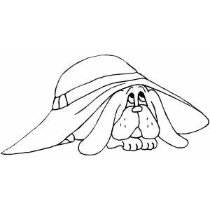 Bloodhound Puppy Coloring Page Bloodhound Coloring Pages