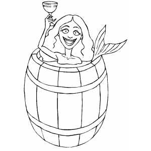 coloring pages of barrels - photo#16