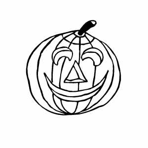 small pumpkin coloring pages - photo#17