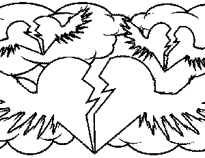hearts with wings coloring pages - picture coloring book roses coloring pages