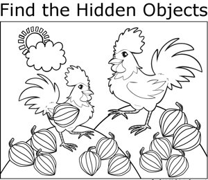 Free Printable Hidden Kitchen Objects | Search Results | Calendar 2015