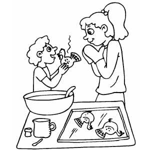 Bun In The Oven Pages Coloring Pages