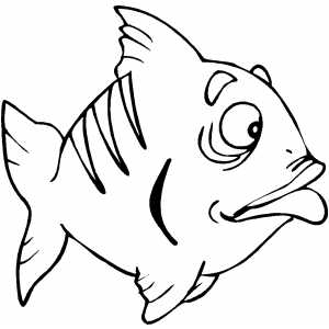 free printable coloring page small fish animals fishes on small lego ...