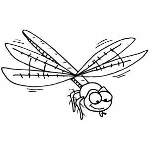 Life Cycle of a Dragonfly coloring page  Free Printable