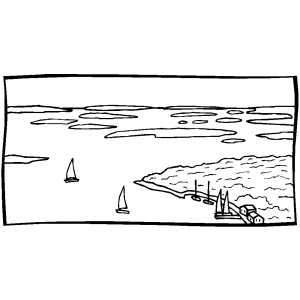 chesapeake bay coloring pages - photo#14