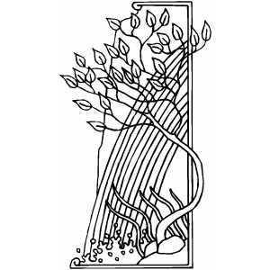 Key Border Colouring Pages Page 3