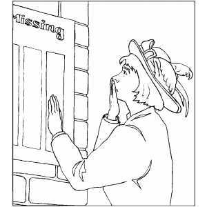 Missing Soldiers List coloring page