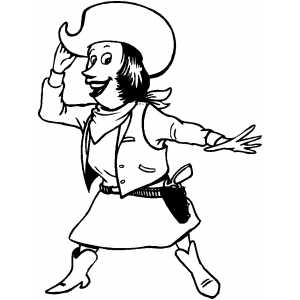 cowgirl coloring pages to download and print for free cowgirl