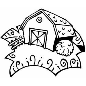 barn dance coloring pages - photo#11