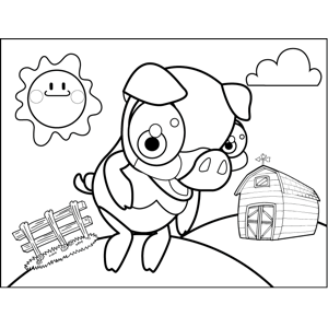 Pink Fluffy Unicorn Coloring Pages Coloring Pages