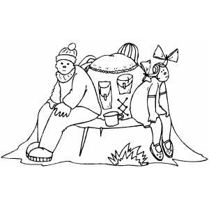 resting coloring pages - photo#14