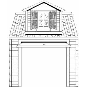 car garage coloring pages | Garage Coloring Page