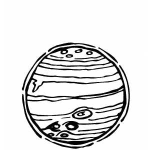 Planet Jupiter Coloring Page page 2  Pics about space