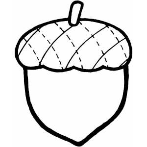 Acorn Coloring Page Acorn Coloring Pages