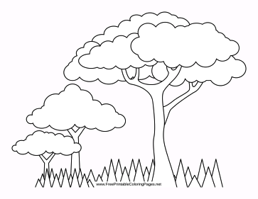 Grass And Flower Coloring Pages Coloring Pages