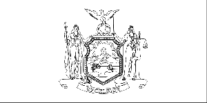 New york state flag coloring page new york state flag coloring page
