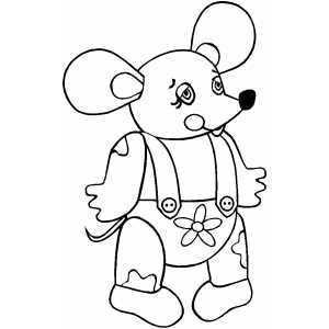 Getting dressed coloring page coloring pages for Froggy gets dressed template