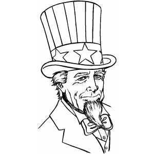 serious uncle sam coloring page serious uncle sam download now png ... Uncle Sam Coloring Pages