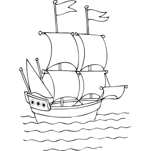 free ships coloring pages - photo#37