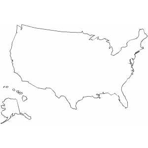 Usa map outline blank maps of usa blank outline maps of the 50 states of the usa united states of publicscrutiny Choice Image