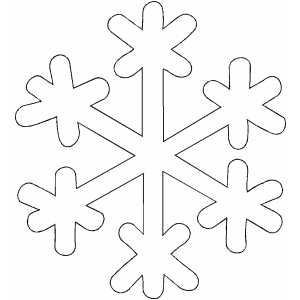 Printable Easter Coloring Pages on Snowflake Coloring Page