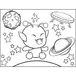 Science Fiction Coloring Pages